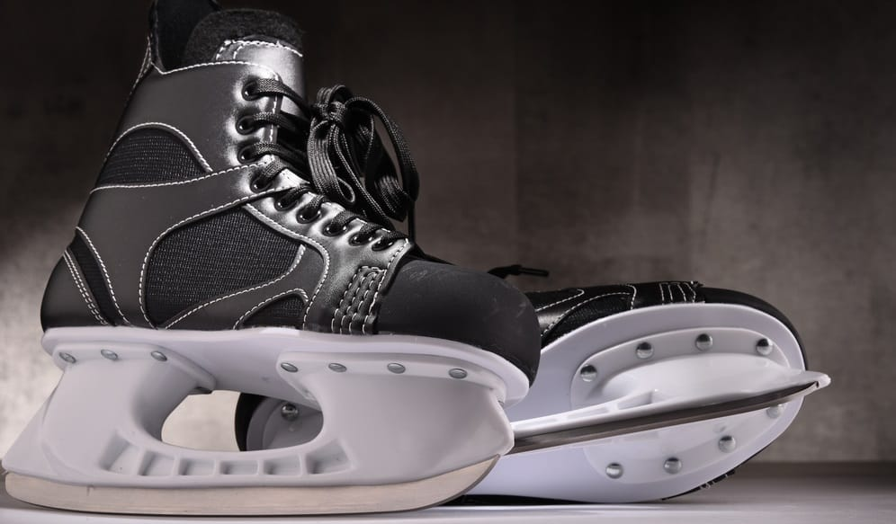 Hockey Skates Baking For Comfort