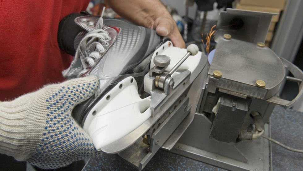 Hockey Skates Sharpening